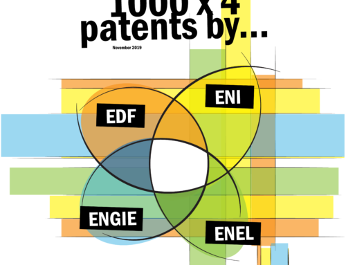 1000×4 patents by EDF, ENI, Engie and Enel